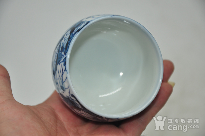 日本青花瓷茶碗五件套图6