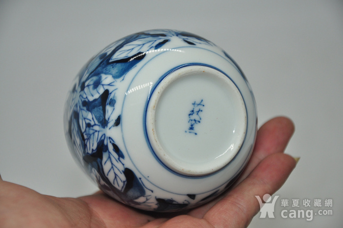 日本青花瓷茶碗五件套图8