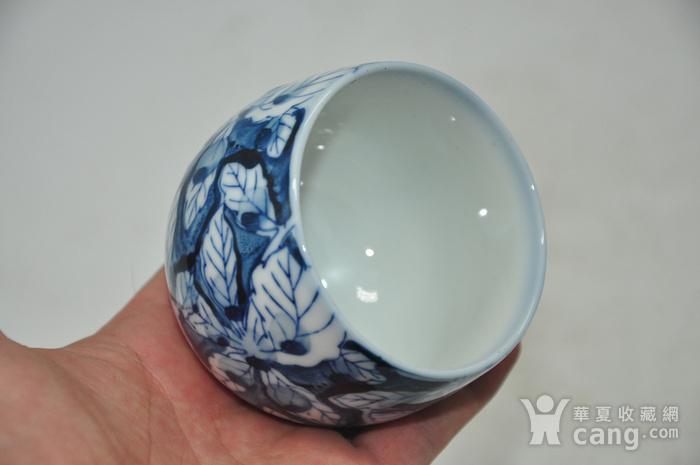 日本青花瓷茶碗五件套图5