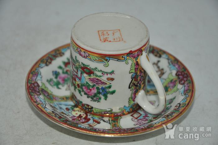 广州彩瓷茶具两套图6
