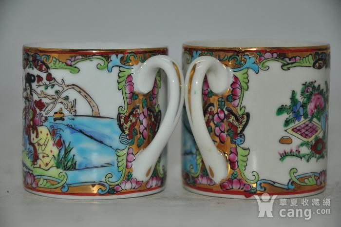 广州彩瓷茶具两套图8