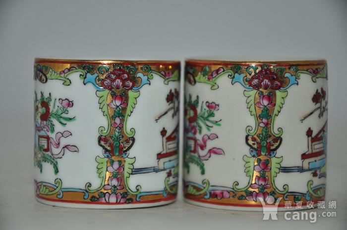 广州彩瓷茶具两套图7