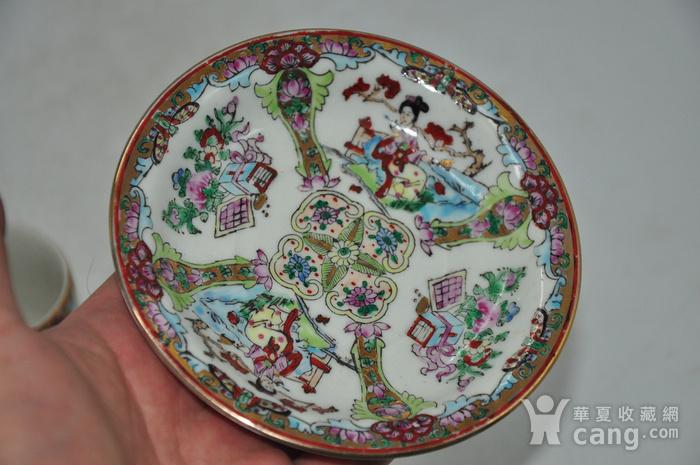 广州彩瓷茶具两套图11