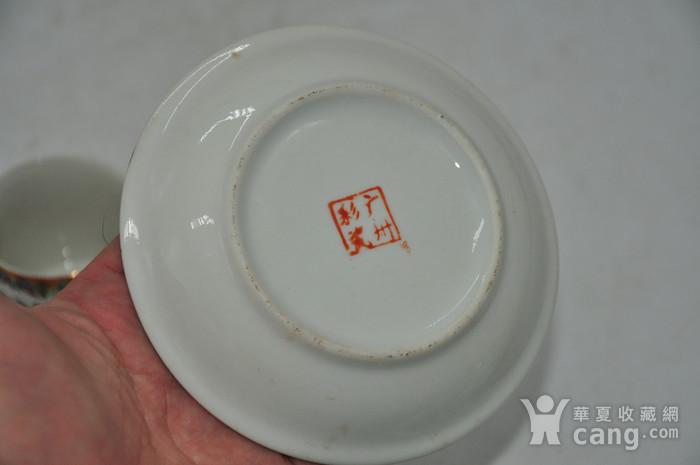 广州彩瓷茶具两套图12