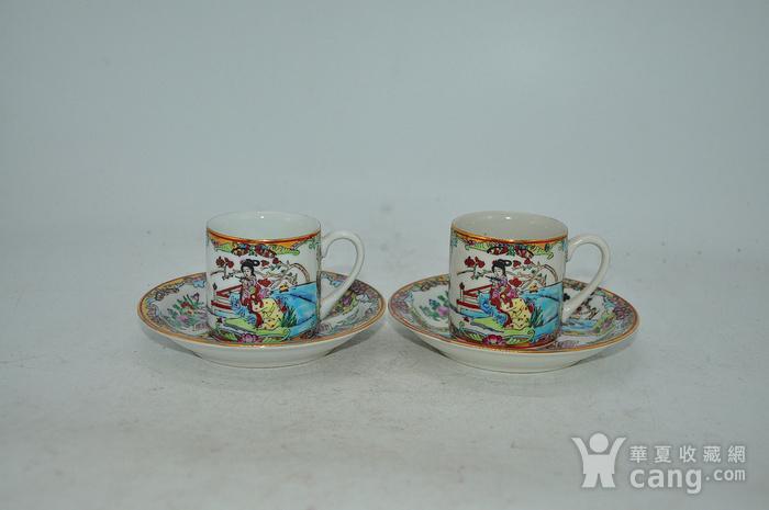广州彩瓷茶具两套图1