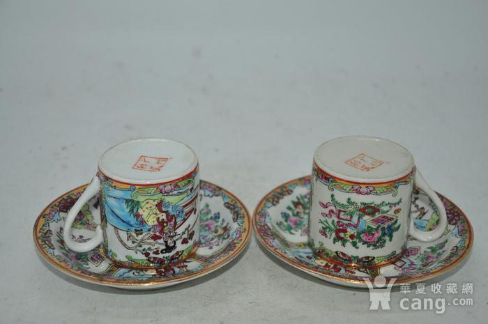 广州彩瓷茶具两套图3