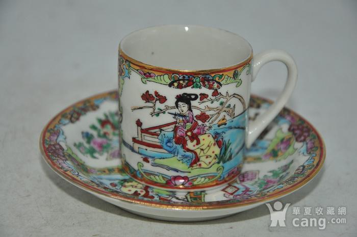 广州彩瓷茶具两套图4