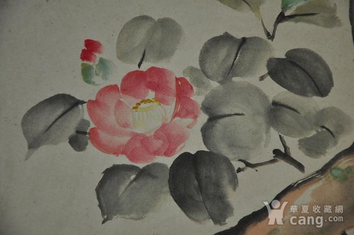 日本粉彩画四幅图6