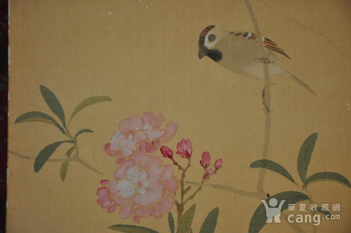 日本粉彩画四幅图9