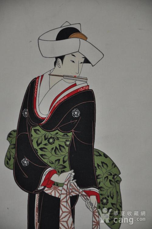 日本粉彩仕女画图2