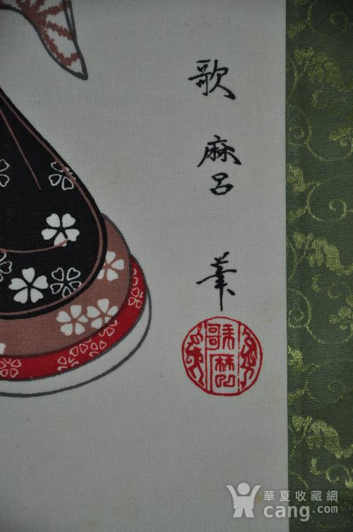 日本粉彩仕女画图9