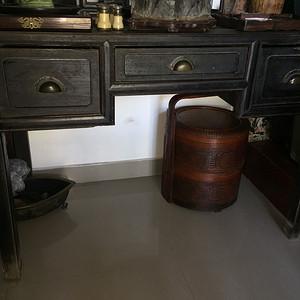 铁力木书桌