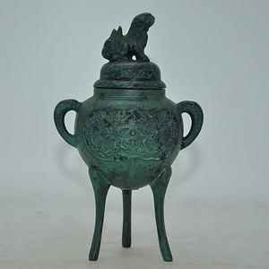 日本铜制熏香炉