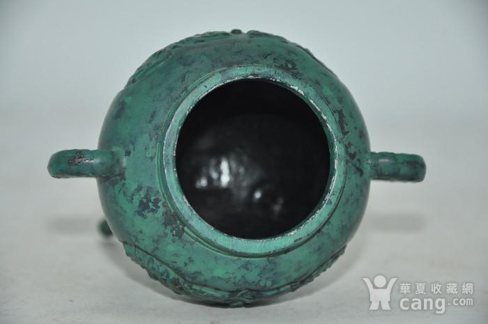 日本铜制熏香炉图8