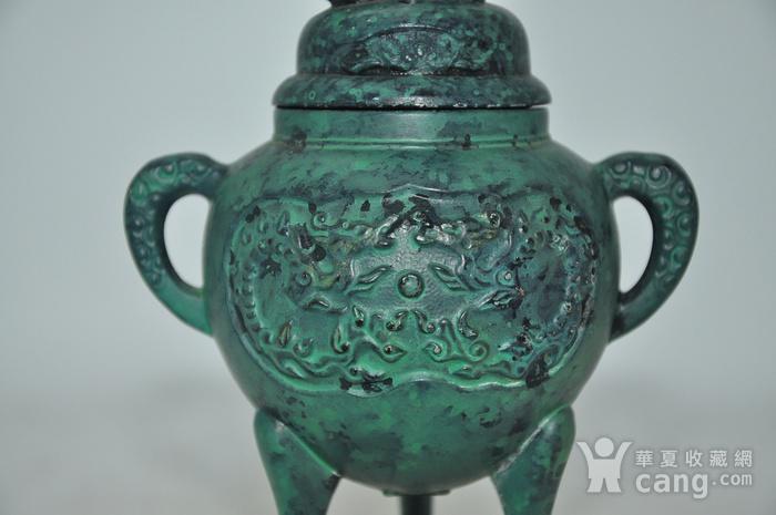 日本铜制熏香炉图5