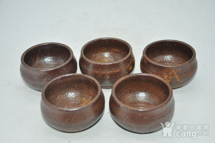 韩国陶瓷茶碗五件套图2