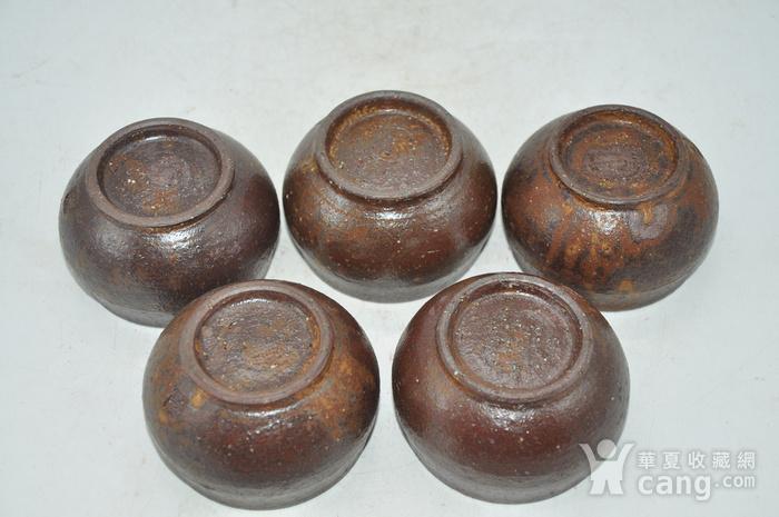 韩国陶瓷茶碗五件套图3