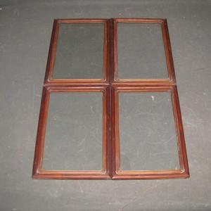 一套花梨木画框