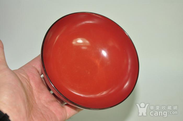 日本漆器盖碗八个图9