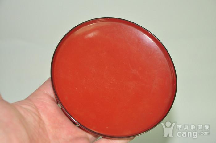 日本漆器盖碗八个图12