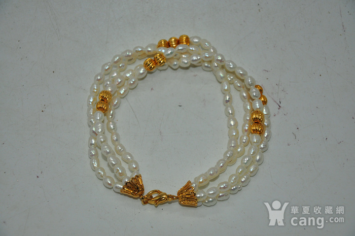 18.5克珍珠手链图1