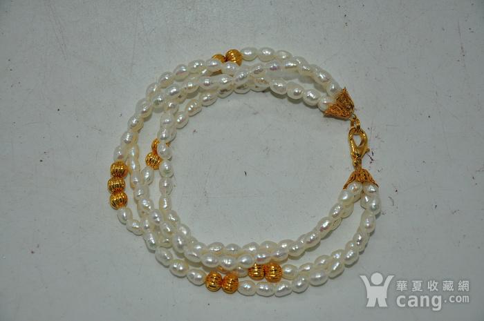 18.5克珍珠手链图2