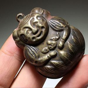 银制 娃娃铃 手工 雕刻 工艺 十分