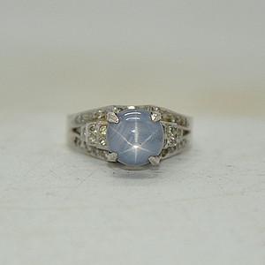 5.2克镶宝石戒指