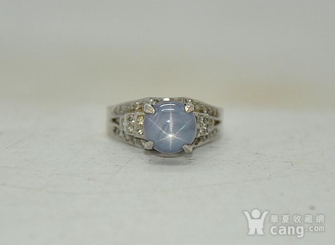 5.2克镶宝石戒指图1