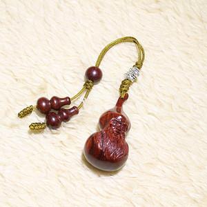 小叶紫檀 葫芦仙 钥匙扣