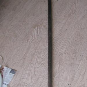 195厘米长的老红木大称