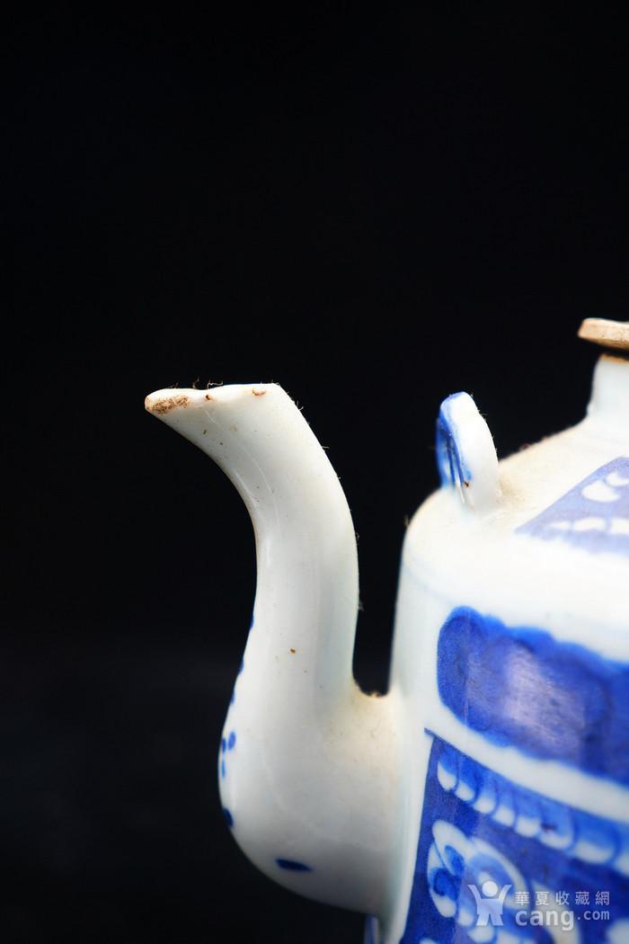 回流的清中期嘉庆年制茶壶 可使用图5