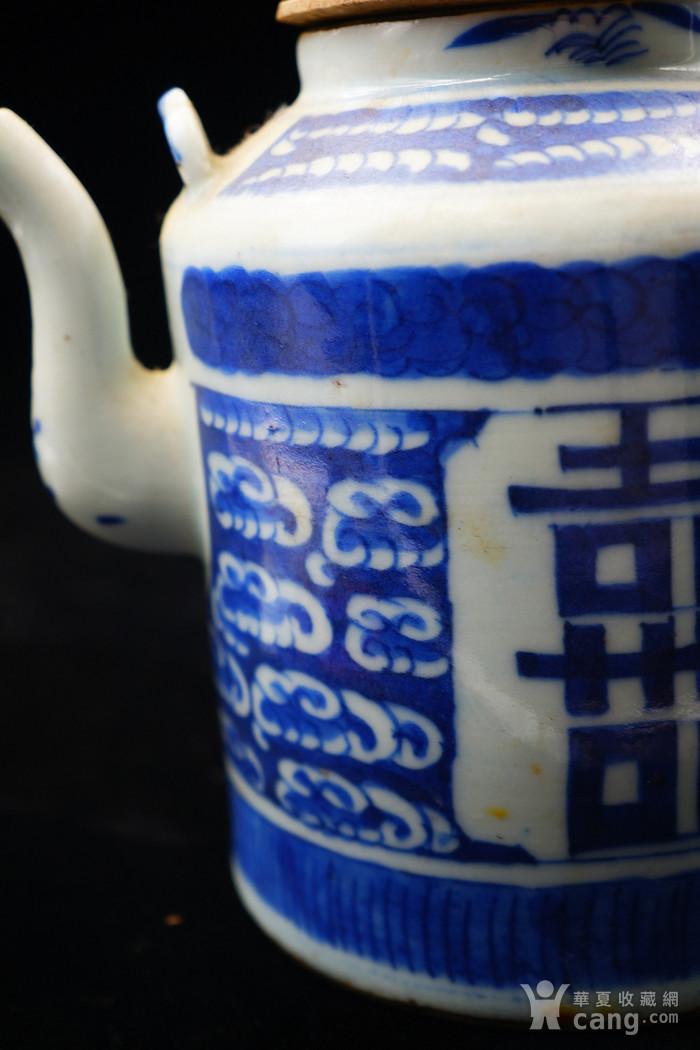 回流的清中期嘉庆年制茶壶 可使用图9