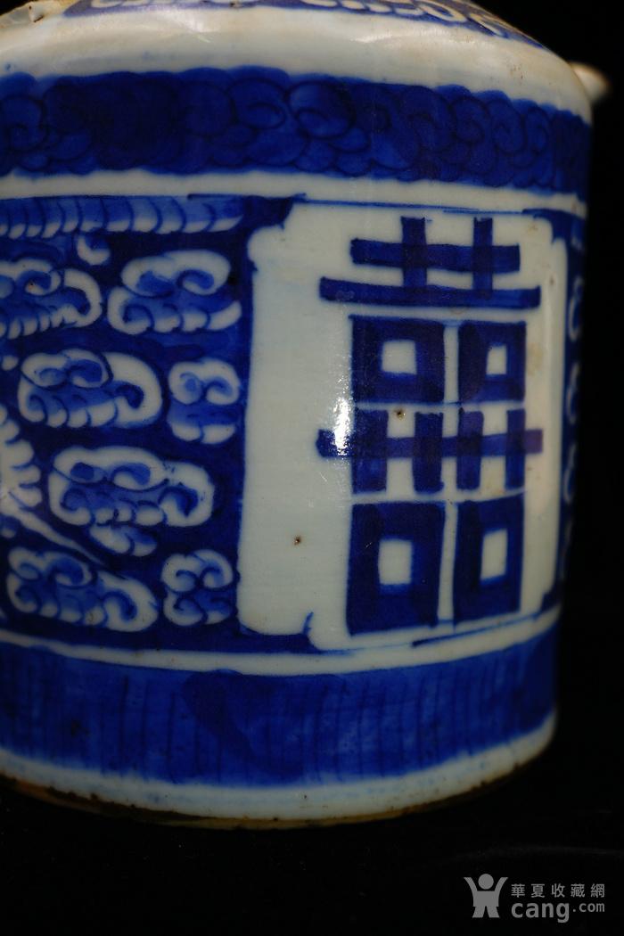 回流的清中期嘉庆年制茶壶 可使用图2