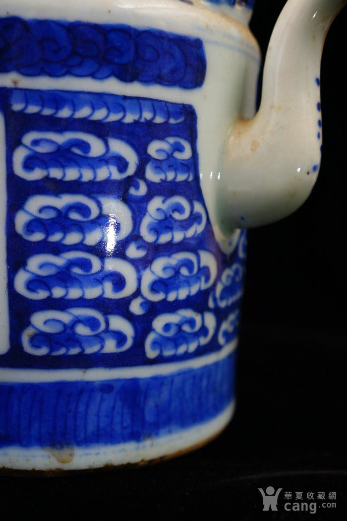 回流的清中期嘉庆年制茶壶 可使用图6