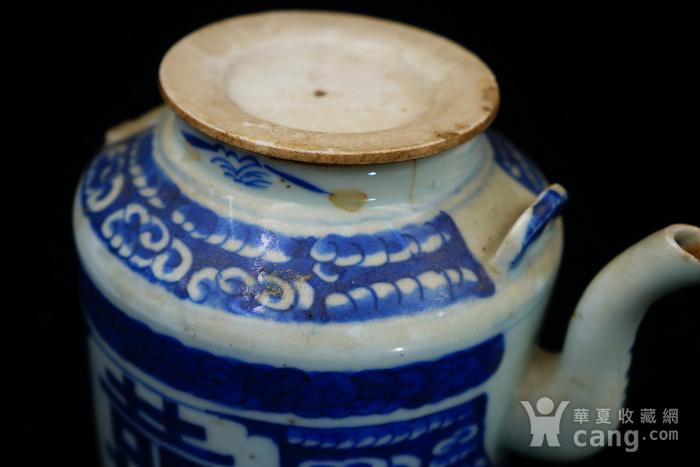 回流的清中期嘉庆年制茶壶 可使用图3