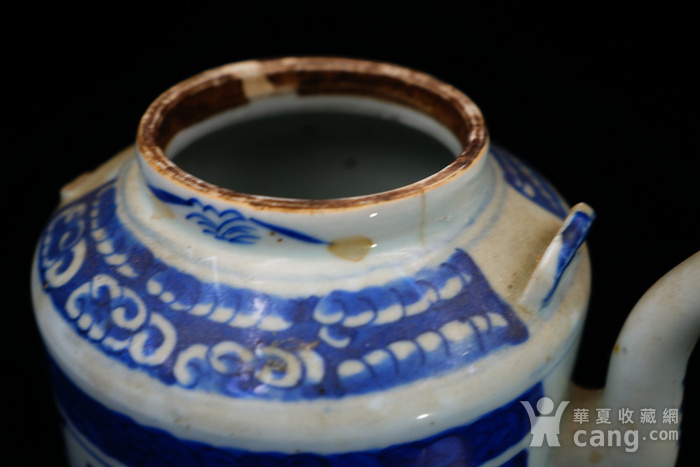 回流的清中期嘉庆年制茶壶 可使用图10