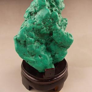 联盟 绝世罕见 天然 绿松石 超级大摆件 近2斤