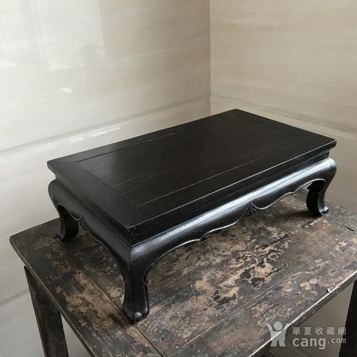 精品收藏级 古董家具木器 清代 老红木炕桌 茶几图2