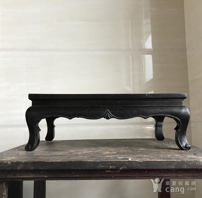 精品收藏级 古董家具木器 清代 老红木炕桌 茶几图3