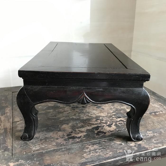 精品收藏级 古董家具木器 清代 老红木炕桌 茶几图6
