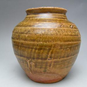 77.明代 吉州窑黄釉大罐