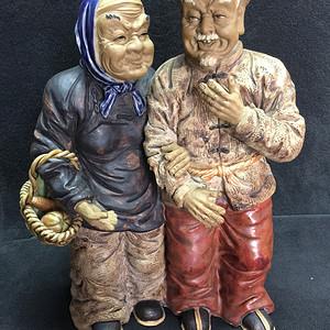 瓷人物雕塑摆件