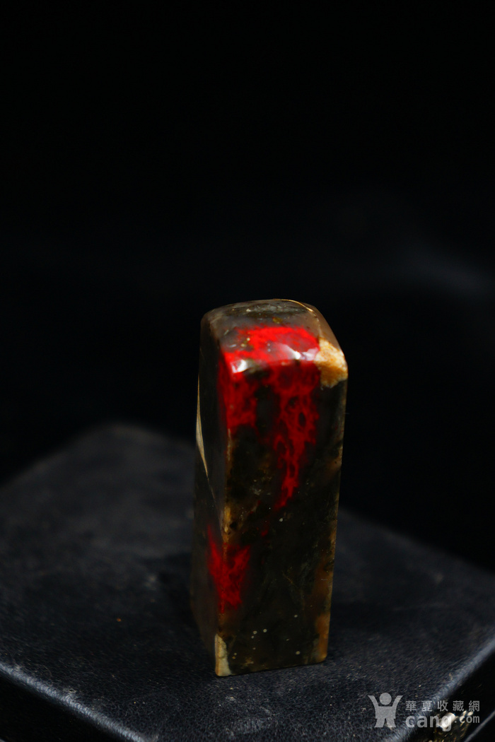 昌化大红鸡血石章图6