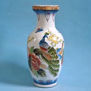 老厂货, 孔雀牡丹 花瓶