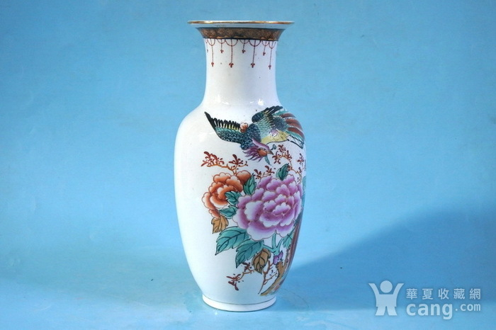 老厂货, 双凤牡丹 花瓶图2