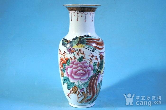 老厂货, 双凤牡丹 花瓶图1