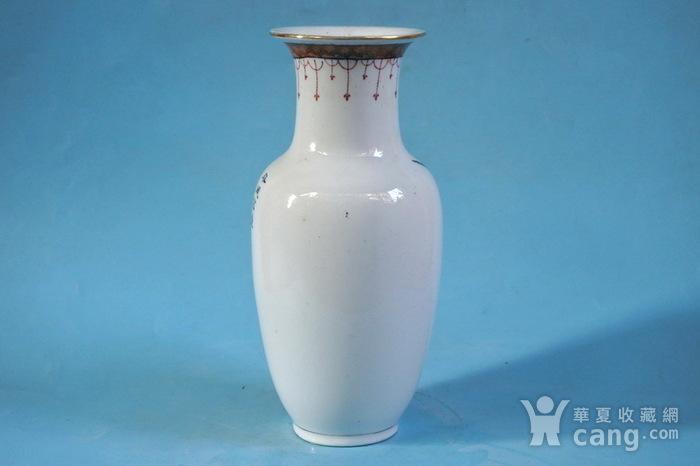 老厂货, 双凤牡丹 花瓶图3