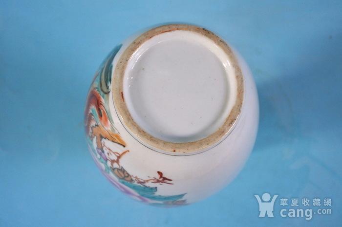 老厂货, 双凤牡丹 花瓶图6
