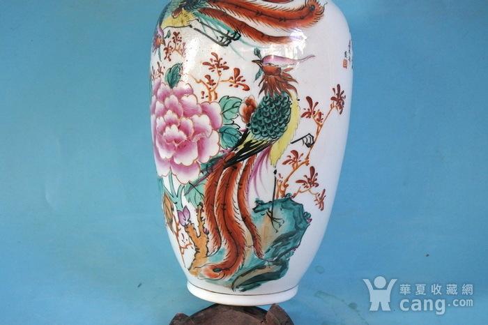 老厂货, 双凤牡丹 花瓶图8